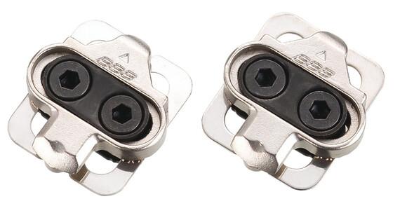 BBB BPD-01 Pedalplatten Click&Go silber